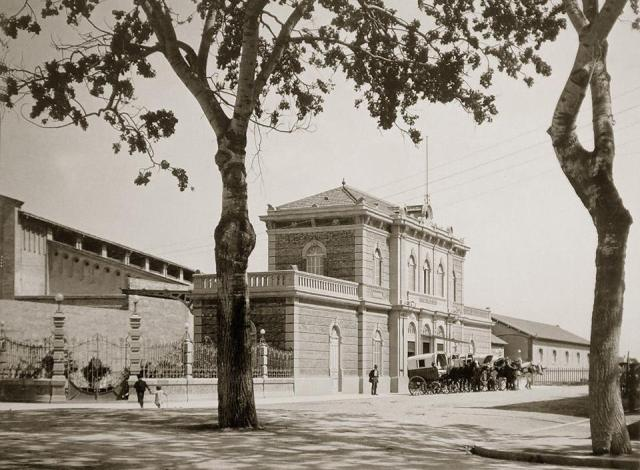 Estació tren de Soller 2