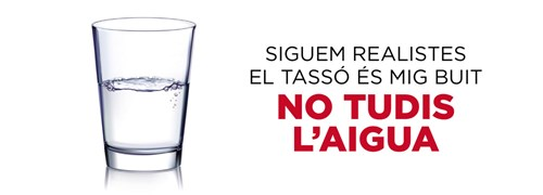 No tudar Aigua